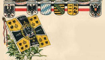Die vier deutschen Königreiche