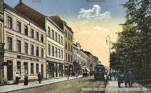 Düren, Eisenbahnstraße