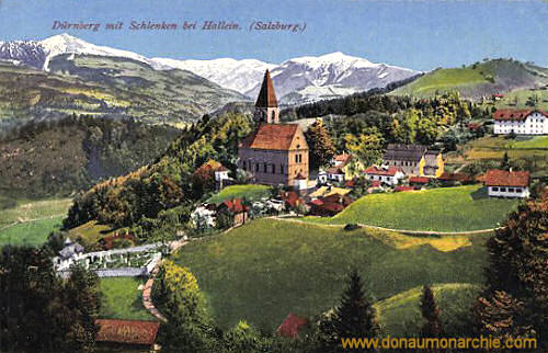 Dürnberg mit Schlenken bei Hallein