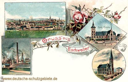 Eschweiler, Concordia, Evangelische Kirche, Katholische Kirche