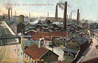 Essen, Blick auf die Krupp'schen Werke