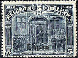 Eupen, Briefmarke Belgien 1920
