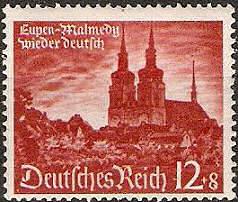 Eupen-Malmedy wieder Deutsch, Briefmarke Deutsches Reich 1940