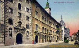 Graz, Landhaus und Herrengasse