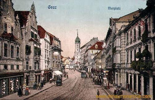Graz, Murplatz