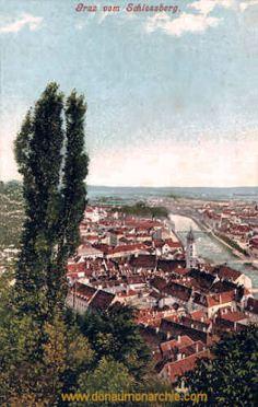 Graz vom Schlossberg