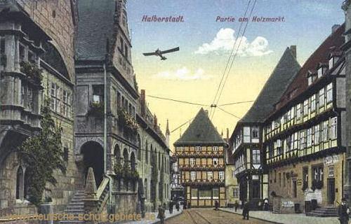 Halberstadt, Partie am Holzmarkt