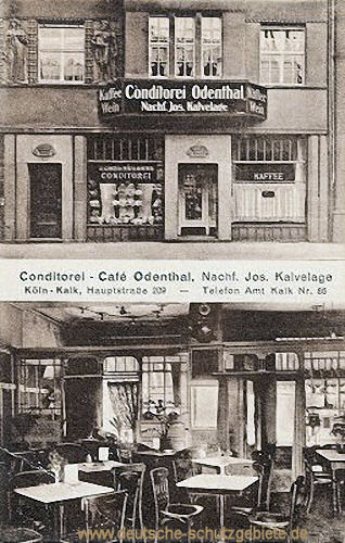 Kalk, Conditorei-Cafe Odenthal