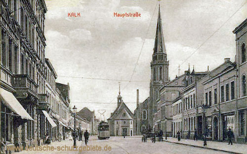 Kalk, Hauptstraße