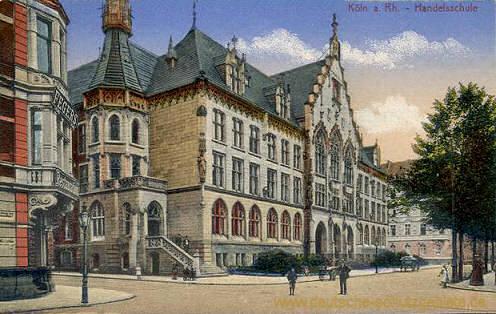 Köln, Handelsschule