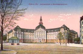 Köln, Justizgebäude und Reichenspergerplatz