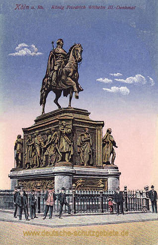 Köln, König Friedrich Wilhelm III.-Denkmal