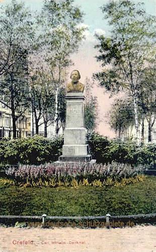 Krefeld, Karl Wilhelm-Denkmal