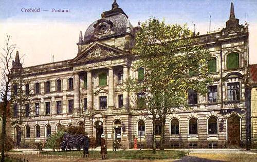 Krefeld, Postamt