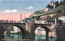 Bad Kreuznach, Alte Nahebrücke und Kauzenberg