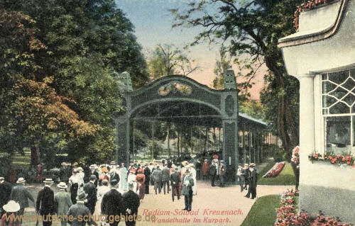Bad Kreuznach, Wandelhalle im Kurpark