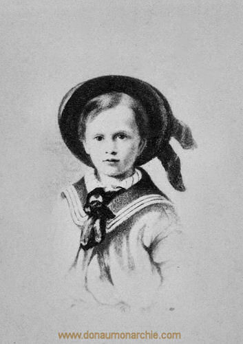 Kronprinz Rudolf, 1864