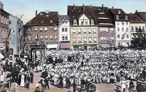 Merseburg, Gruss vom Merseburger Kinderfest