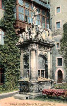 Merseburg, Neptun-Brunnen