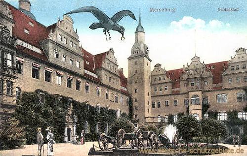 Merseburg, Schlosshof