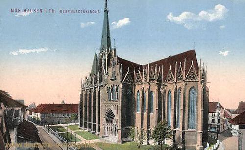 Mühlhausen i. Thür., Obermarktskirche
