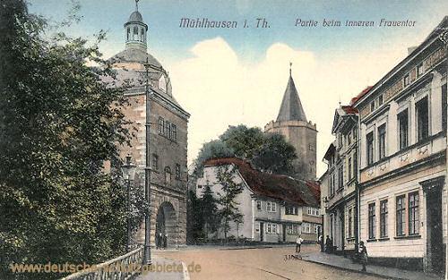 Mühlhausen i. Thür., Partie beim inneren Frauentor