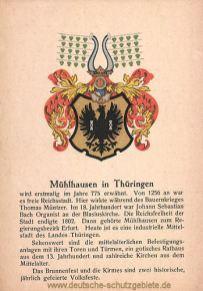 Mühlhausen in Thüringen, Wappen