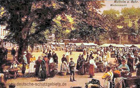 Mülheim an der Ruhr, Wochenmarkt
