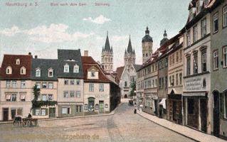 Naumburg, Blick nach dem Dom, Steinweg
