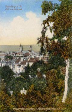 Naumburg, Blick vom Bürgerpark