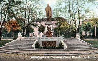 Naumburg, Denkmal Kaiser Wilhelm der Große