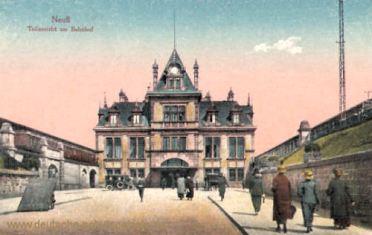 Neuss a. Rh., Bahnhof