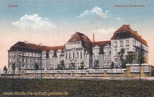Neuss a. Rh., Städtisches Krankenhaus