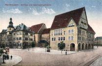 Nordhausen, Rathaus und Sparkassengebäude