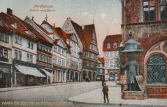 Nordhausen, Roland und Markt