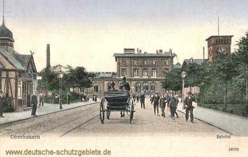 Oberhausen, Bahnhof