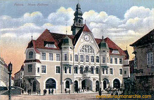 Pettau, Neues Rathaus