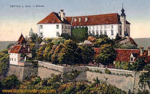 Pettau a. Drau, Schloss
