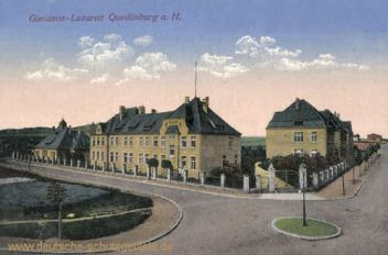 Quedlinburg, Garnison-Lazarett