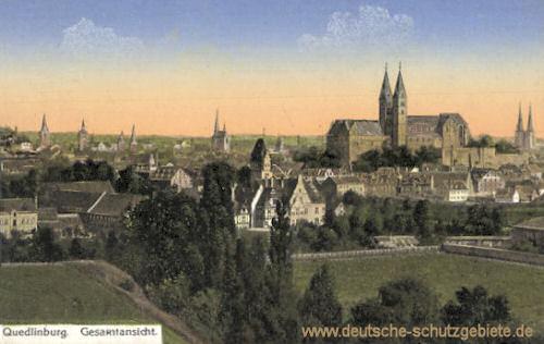 Quedlinburg, Gesamtansicht