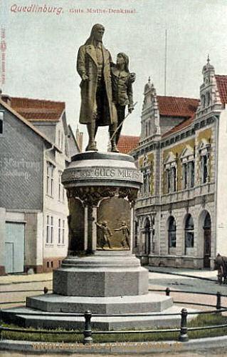 Quedlinburg, Guts Muths-Denkmal