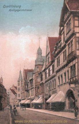 Quedlinburg, Heiligegeiststraße