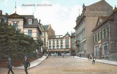 Remscheid, Bahnhofstraße