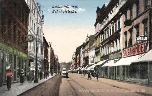 Saarbrücken, Bahnhofstraße