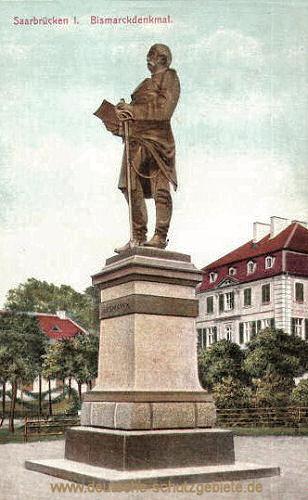Saarbrücken, Bismarckdenkmal