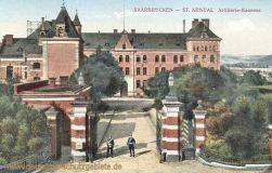 Saarbrücken - St. Arnual, Artillerie-Kaserne
