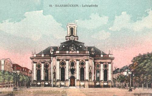 Saarbrücken, Ludwigskirche