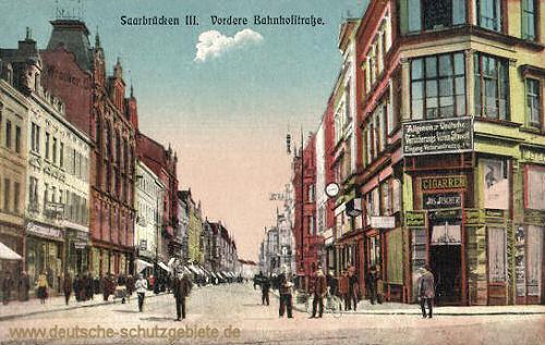 Saarbrücken, vordere Bahnhofstraße