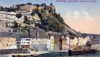 Saarburg, Bezirk Trier, Partie an der Saar