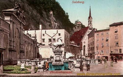 Salzburg, Pferdeschwemme